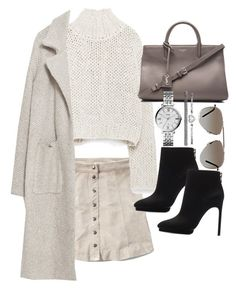 """Untitled #19351"" by florencia95 ❤ liked on Polyvore featuring Abercrombie & Fitch, Zara, Yves Saint Laurent, FOSSIL and Tom Ford"