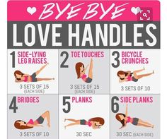 Bye Bye Love Handles Workout