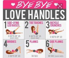 Bye Bye Love Handles Workout
