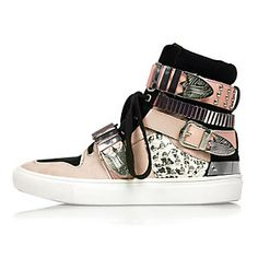 High Buckle Sneakers from River Island R1950,00