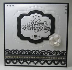 Black Tie Wedding by Renlymat - Cards and Paper Crafts at Splitcoaststampers