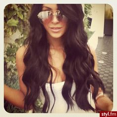 Hair envy!! Makes my desire to cut my hair shrink a bit