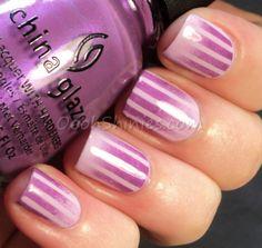 Oooh, Shinies!: Striped gradient & tutorial