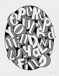 We have print 1/10 of Ceizer's excellent typographic art