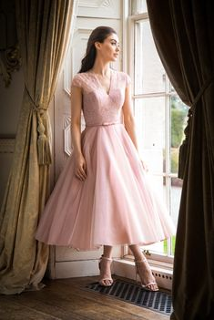 Beautiful bridal dresses, wedding gowns and plus size wedding dresses for your wedding from Special Day. Fashionable bridesmaid dresses and prom dresses. Pink Brides Maid Dresses, Tea Length Bridesmaid Dresses, Blush Dresses, Tea Length Wedding Dress, Tea Length Dresses, Plus Size Brides, Plus Size Gowns, Wedding Dresses Plus Size, Plus Size Wedding