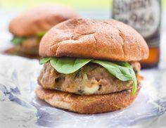 Basil Spinach Turkey Burger