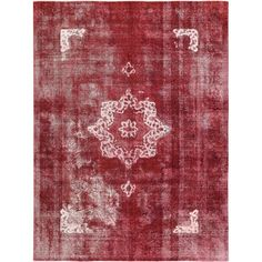You'll love the Vintage Hand-Knotted Red/Beige Area Rug at Wayfair - Great Deals on all Rugs products with Free Shipping on most stuff, even the big stuff.