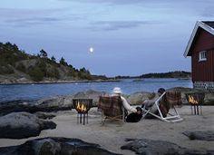 cottage on coast of Norway
