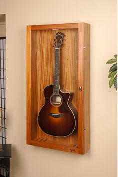 Good Rectangle Wall Cases · Guitar Display CaseDisplay ...