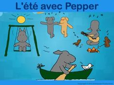 Pepper introduces French vocabulary with complete sentences for summer.  This package includes a longer and a simpler booklet, PowerPoint, test/homework sheet, posters for younger students to write on, and two extra activities.  It is most suitable for those learning elementary French in grades pre-K to 4 (or ages 3 to 9).