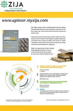 Shop | Zija | Core Moringa XM am - Weight Management Supplement | Independent Distributor for Zija International | Visit www.apintor.myzija.com