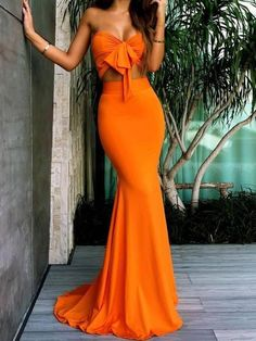 Buy Orange Sweetheart Two Pieces Mermaid Sexy Long Bridesmaid Dresses,Prom Dresses uk one of the season's hottest looks in a burgundy homecoming dress or choose a timeless classic little black dress. Orange Prom Dresses, Prom Dresses Uk, Mermaid Prom Dresses, Long Bridesmaid Dresses, Orange Dress, Sexy Dresses, Sexy Maxi Dress, Fashion Dresses, Orange Skirt Outfit