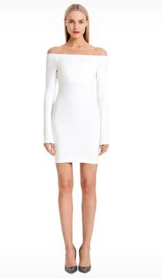 Jessie - A Fashion Boutique - Torn - Gola Dress Ponte - White, $242.00 (http://www.jessieboutique.com/products/torn-gola-dress-ponte-white.html)