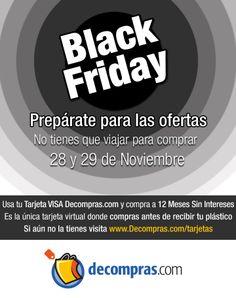 El Black Friday llegó a Decompras.com