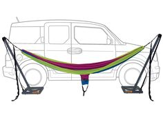 ENO Roadie Car Stand -  The Roadie may quickly become your best friend on the open road.