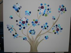 Project with with pre-school children for school fundraiser.   #DIY #kids  #art