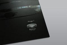 Bentley Motors - Corporate Brochure on Behance