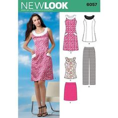 New Look 6057 Women's Coordinates 8 - 18 | Spotlight Australia