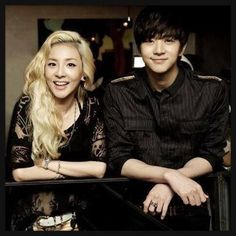 Beautiful siblings Sandara Park and MBLAQ Thunder together!