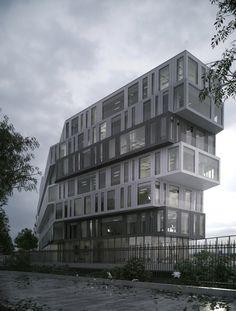 Office Building, Paris | RSI-Studio