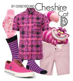"""Cheshire Cat"" by leslieakay ❤ liked on Polyvore featuring Ice-Watch, Vivienne Westwood Man, Ralph Lauren, men's fashion, menswear, disney and disneybound"