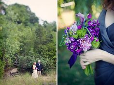 Agua Marina Blog: Purple Wedding by Clayton Austin