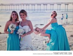 Photobomb Level: Bridesmaids…