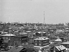 """Панорама района """"Болото"""". Время съемки: 1970-е. Автор фото: Александр Попов."""