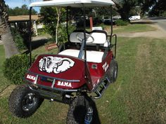 Someone loves golf... and Bama...