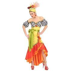 Disfraz Brasileña Miranda. Precioso disfraz de Brasileña o caribeña. Perfecto para fiestas de verano, carnaval, comparsas. Envíos 24 horas http://mercadisfraces.es/brasilenos-caribenos-y-rumberos/disfraz-brasilena-miranda.html?search_query=hawaianos&results=63