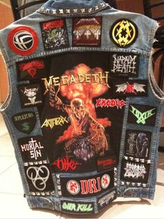 Thrash Back Patches | Destruction.de • View topic - Jackets, patches and other metal shit