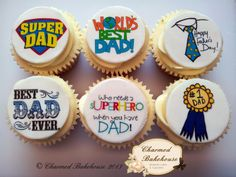 A few examples of our bespoke cupcakes made from our home bakery in Lisburn, Northern Ireland. Fathers Day Cupcakes, Fathers Day Cake, Batman Cake Pops, Cake Cookies, Cupcake Cakes, Hamburger Cupcakes, Dad Birthday Cakes, Sugar Cookie Royal Icing, Crazy Cakes