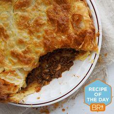 #Recipeoftheday: Aussie meat pie