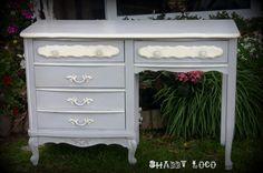 Paris Grey painted dresser.