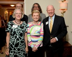 Ann & Knight Kiplinger are now 'besties' with Linda & Jim Beers after meeting at a concert by The Washington Chorus of which Knight is Chairman Emeritus.