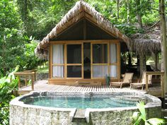 Unique honeymoons create a lifetime of memories. Spend a night or two a the very remote, but luxurious Pacuare Lodge as part of your tour. www.costaricarios.com #luxuryhoneymoon #adventure # costarica