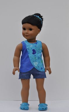 American Girl Doll Clothes/18inch Doll Clothes/ by OneGirlsDream, $21.00