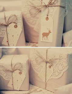 Doilies paper packaging