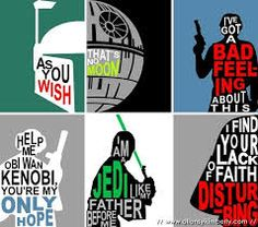 star wars characters silhouettes - Google Search