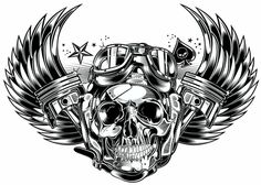Designersgotoheaven.com -Skull