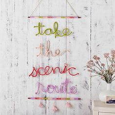 Take the Scenic Route Macrame #pbteen