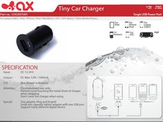Car Power Charger 1 USB port Ipod, Phone, Galaxy S2, Tech Accessories, Blackberry, Charger, Usb, Telephone, Blackberries