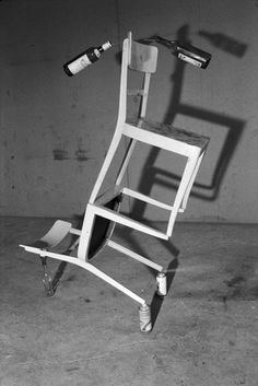 Peter Fischli & David Weiss: Der Furz, 1984. Gelatin Silver Print. 40 X 30 CM; Framed:  47 X 37 CM.