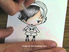 ▶ Prismacolor Basics Coloring Tutorial (with Odorless Mineral Spirits) - YouTube