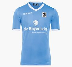 6082a97109 1860 MUNICH 2017-2018 HOME JERSEY Football Kits