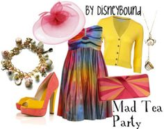 Mad Hatter Tea Party  by Disneybound