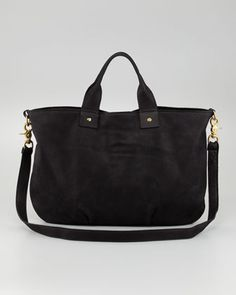 Nubuck Messenger Bag by Clare Vivier at Neiman Marcus.
