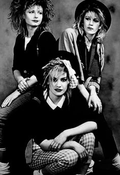 Bananarama, one of the biggest girl groups in the 80's.