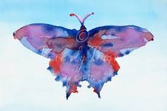 red butterfly artwork - Google Search
