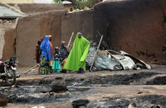 all about Nigeria in picture | Massacre in Nigeria Spurs Outcry Over Military Tactics